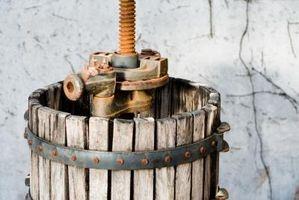 Como usar uma cesta Wine Press