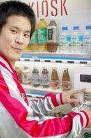 Tipos de alimentos encontrados em Máquinas de venda automática