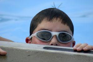 Como ajustar Nose Pedaço de natação óculos de Allen Wrench