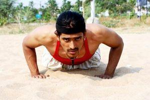 Hip Push-Up Exercício para Homens