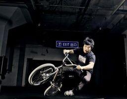 Como alterar um assento de BMX