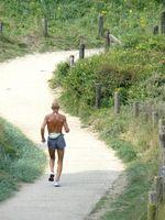 Velocidade da esteira Peak como treinamento