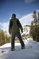 Como determinar seu pé para um Snowboard
