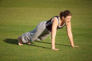 Como construir os músculos do peito com push-ups