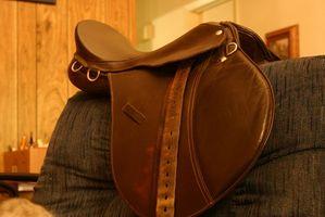 Como medir o tamanho de um assento Inglês Saddle