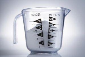 Como Descobrir quantos copos é de 3 Quarts