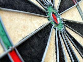 Configurando um regulamento Dart Board