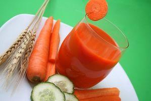 Maneiras de preparar vegetais e sucos de fruta