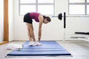 Warm-Up para uma mulher antes de um treino Lower Body