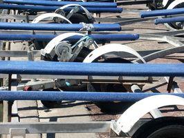 Como registrar um reboque do barco na Carolina do Norte