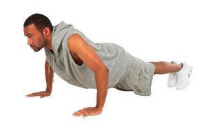 Como construir músculo com Push-Ups & Sit-Ups