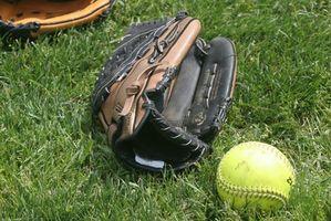 Treinos de softball para meninas