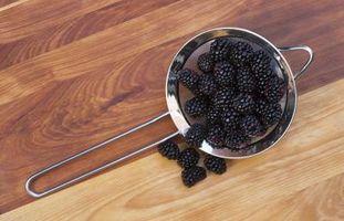 Como lavar Blackberries