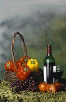 Que Frutas e vegetais Ferment Bem no Wine?