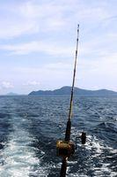 DIY pesca Rod Racks