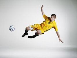 Como a posição de um Ataque de gol no futebol