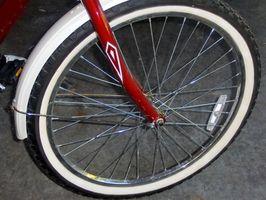 As diferenças de bicicleta pneus Medidas