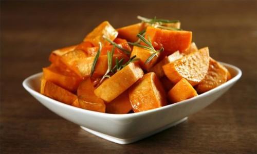 Como fazer batatas doces vitrificada