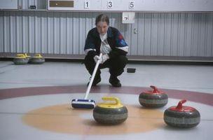 Curling Habilidade temáticos Atividades para crianças
