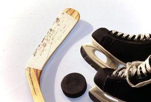 Como substituir Hockey Skate Rebites