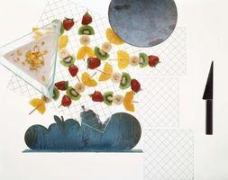 Como Fazer Frutas Espetos