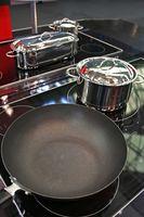 Como faço para cozinhar com Calphalon anodizado 10 PC Panelas?