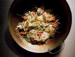 Técnicas de cozinha wok