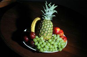 Ideias bandeja de frutas frescas