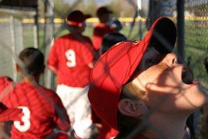 Baseball Pitching Regras da escola secundária