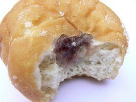 Como fazer pequeno Donuts