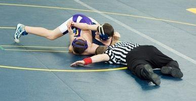 Como propagar uma Wrestling Bracket 16 Man