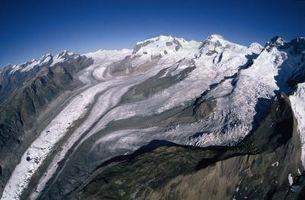 Train Rides Através geleiras da Suíça