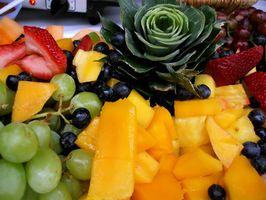 Como fazer grandes frutos Platters