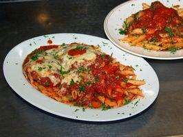 Que tipos de alimentos Do italiano restaurantes servem?