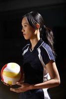 Como exercício para Tryouts Voleibol