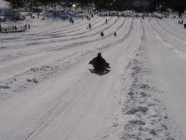 Como montar um tubo de neve