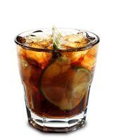 Os Calorias em Bacardi & Diet Cola