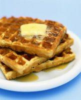 Como cozer com uma mistura Waffle