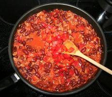 Como fazer Chili Beans and Rice