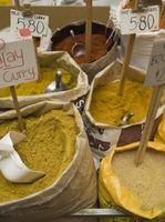 Como fazer molho Usando Yogurt & Curry em pó