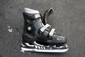 Dor Toe Causada por patins de gelo Hóquei