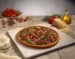 Como Aqueça uma Pizza pedra muito alta