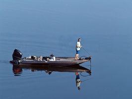 Como âncora de um barco de pesca