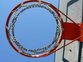 Como escolher uma cesta de basquete