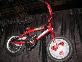 Escolher uma bicicleta para crianças