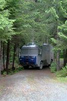 RV Parques em Fort Saint John British Columbia, Canadá