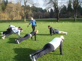 Quais são os benefícios de Fitness Boot Camps?