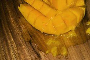 Frutas tropicais em Pies