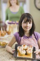 Idéias para decorar cupcakes para as meninas
