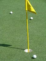 Como fazer sua própria prática Golf Putting Green